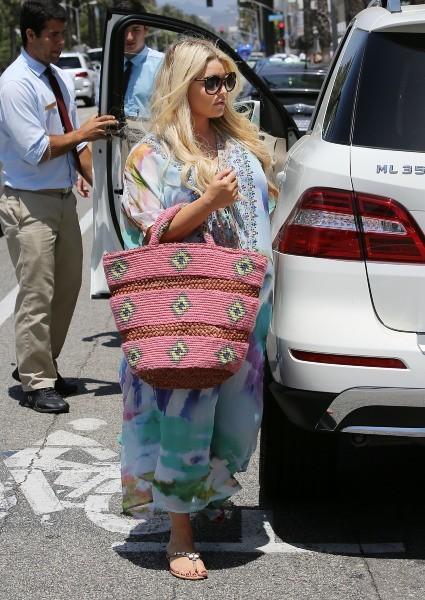 Jessica Simpson le 22 juin 2013 à Los Angeles