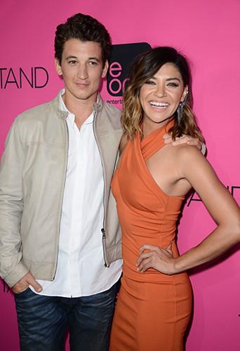 Miles Teller et Jessica Szohr à Los Angeles le 16 septembre 2014