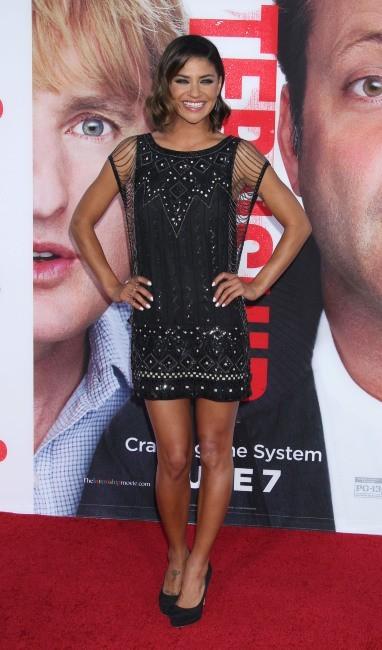 """Jessica Szohr lors de la première du film """"The Internship"""" à Westwood, le 29 mai 2013."""
