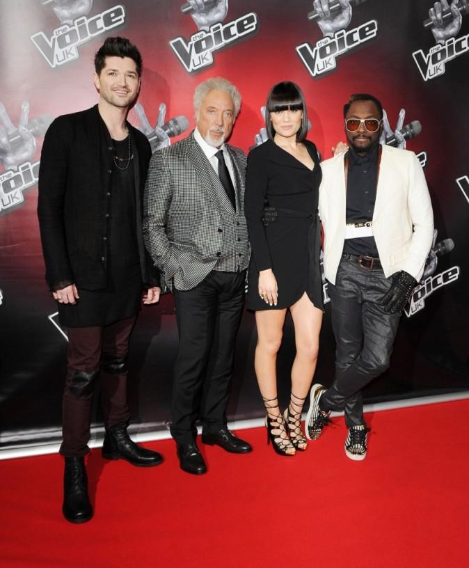 Les jurés de The Voice UK en pleine promo