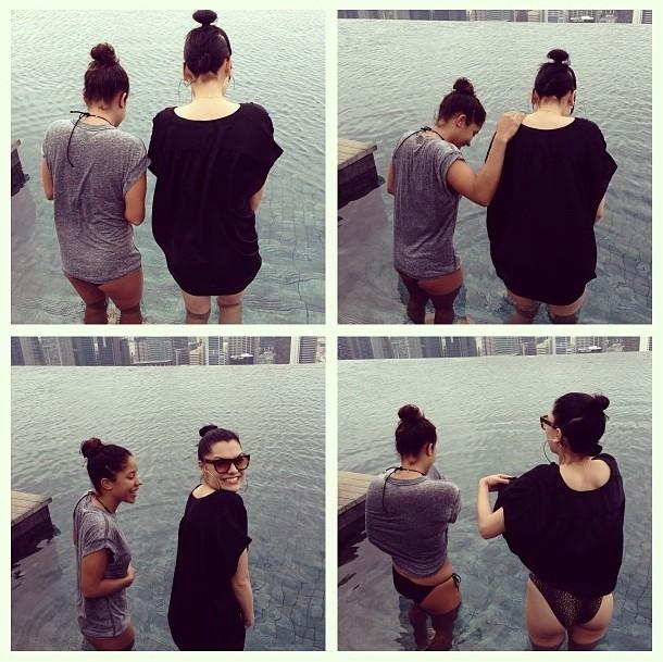 Jessie J fait face à sa plus grande peur en maillot de bain !