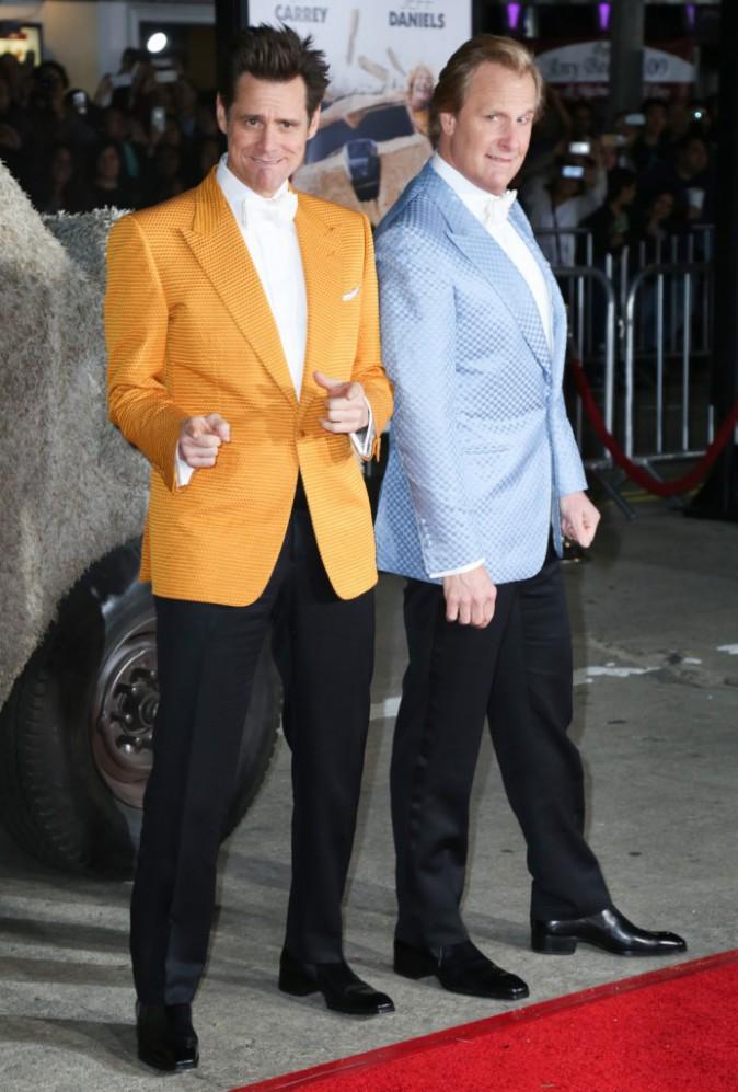 Jim Carrey et Jeff Daniels le 3 novembre 2014