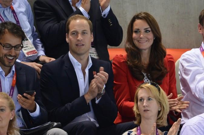 Kate Middleton et le Prince William, Londres, 3 août 2012