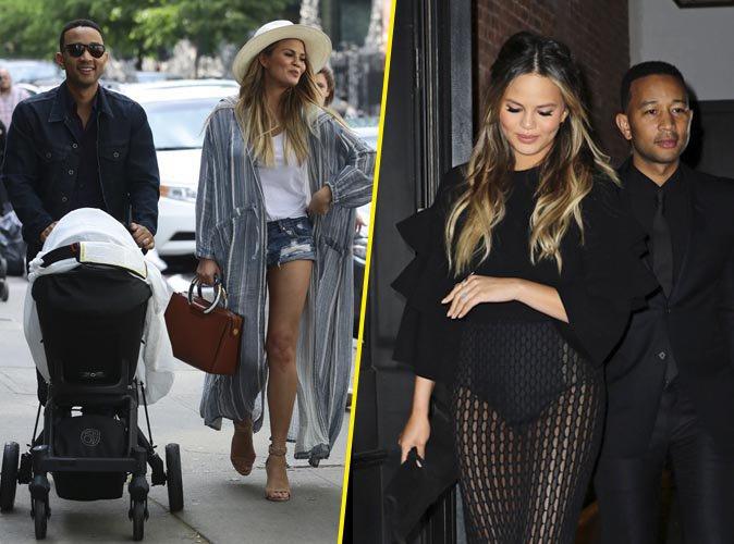 Photos : John Legend et Chrissy Teigen : parents comblés avec leur petite fille