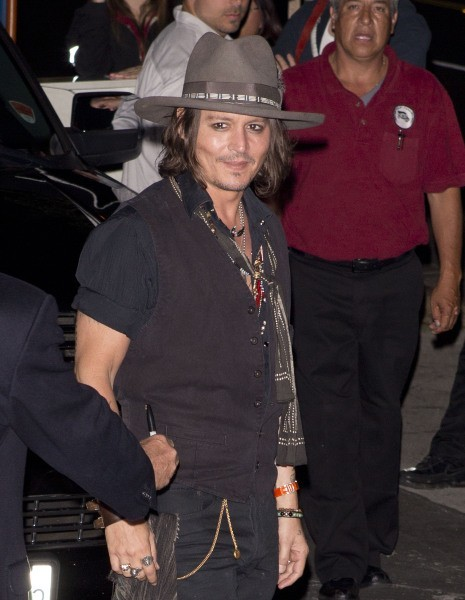 Johnny Depp, West Hollywood, 6 août 2012
