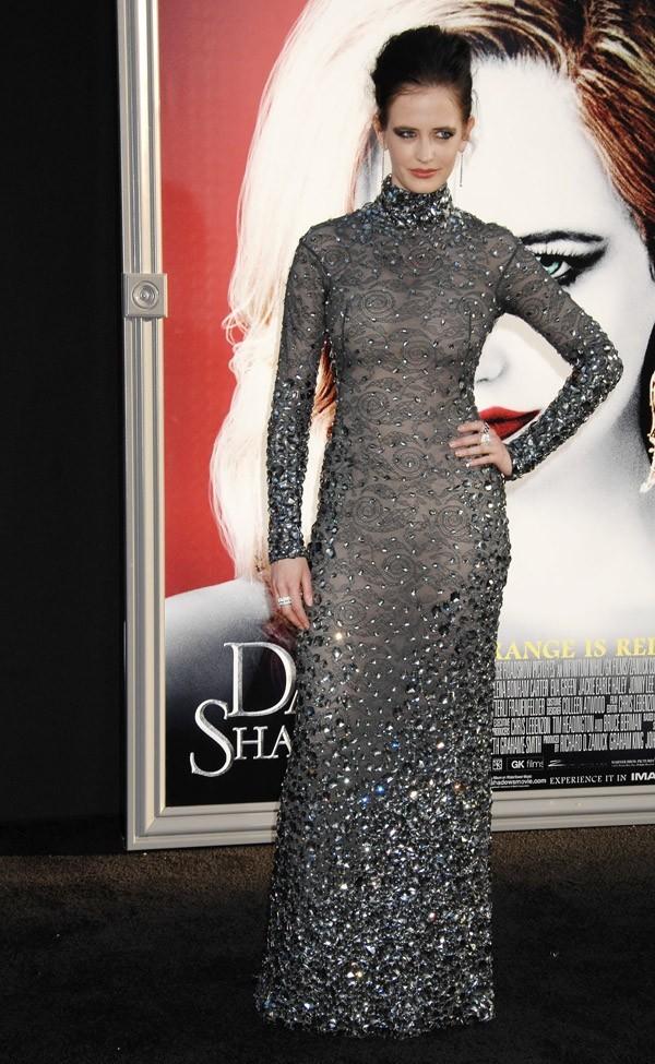 Eva Green à l'avant-première de Dark Shadows le 7 mai 2012