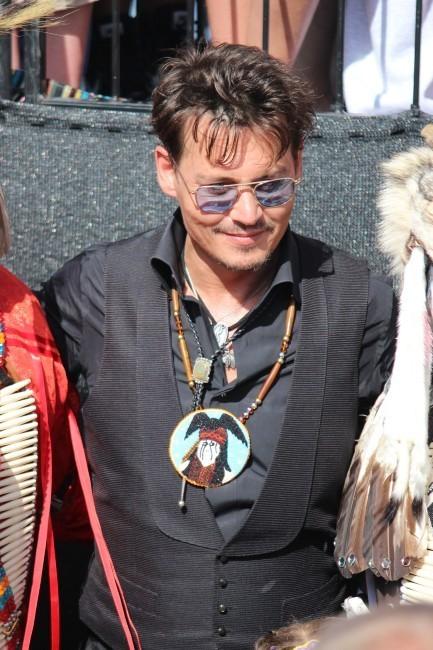 Johnny Depp le 21 juin 2012 dans l'Oklahoma