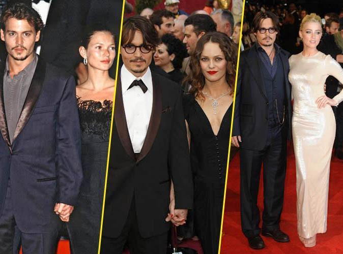 Johnny Depp : de Kate Moss à Amber Heard en passant par Vanessa Paradis, retour sur les femmes de sa vie !