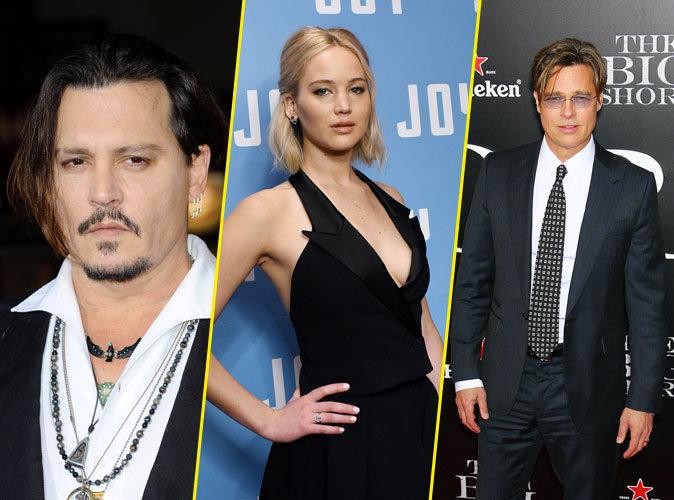 Photos : Johnny Depp, Jennifer Lawrence, Brad Pitt… Tous les acteurs les plus et les moins rentables !