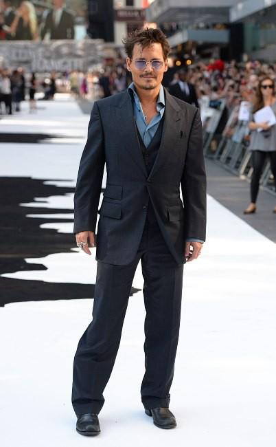 Johnny Depp lors de la première du film The Lone Ranger à Londres, le 21 juillet 2013.
