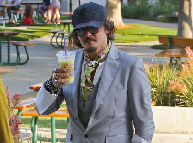 Johnny Depp : le retour du sex-appeal n'est pas pour tout de suite... C'est quoi ce look !