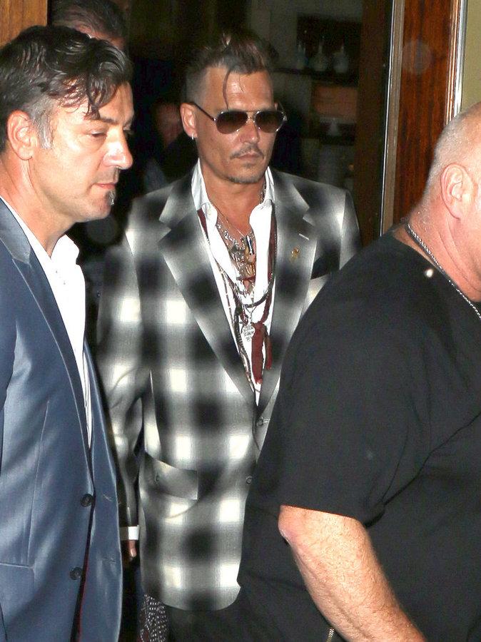 Johnny Depp a été très soutenu par sa famille dernièrement