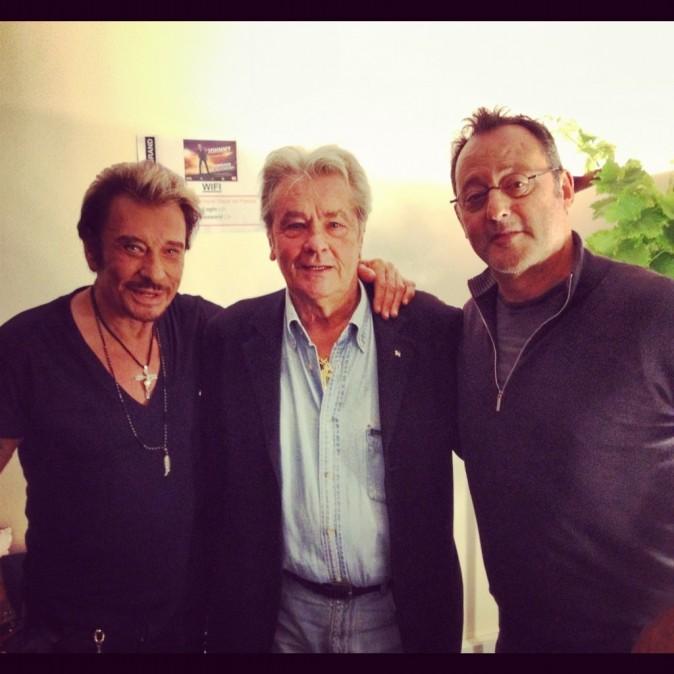 Johnny, Alain et Jean, trois monstres sacrés