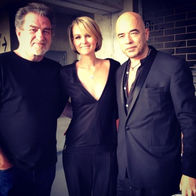 Laeticia, Pascal et Eddy