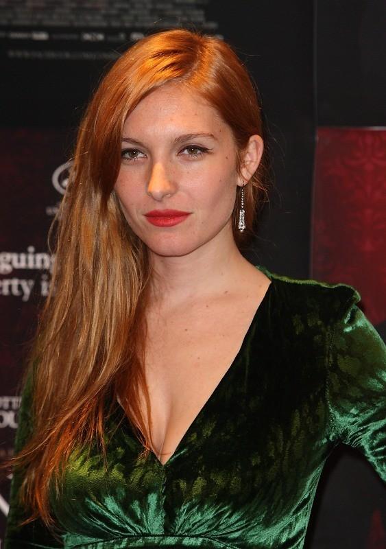 Joséphine de la Baume le 3 décembre 2012 à Londres