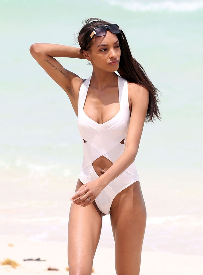 Jourdan Dunn le 28 mai 2013 à Miami