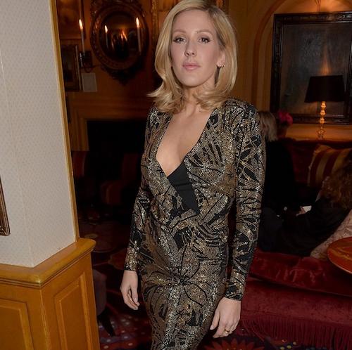 Ellie Goulding au dîner Balmain à Londres, le 16 mars 2015 !