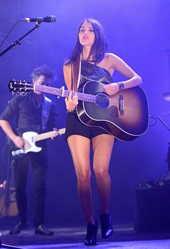 Joyce Jonathan en concert à Paris le 29 octobre 2013