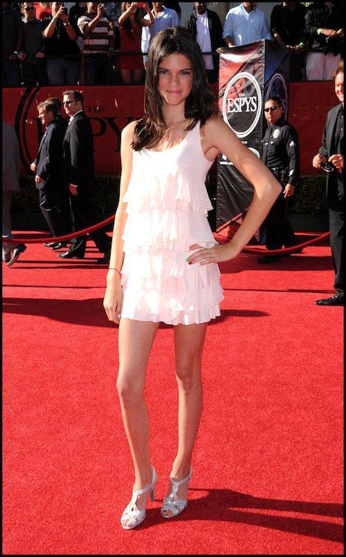 Kendall Jenner en 2012 aux ESPY Awards