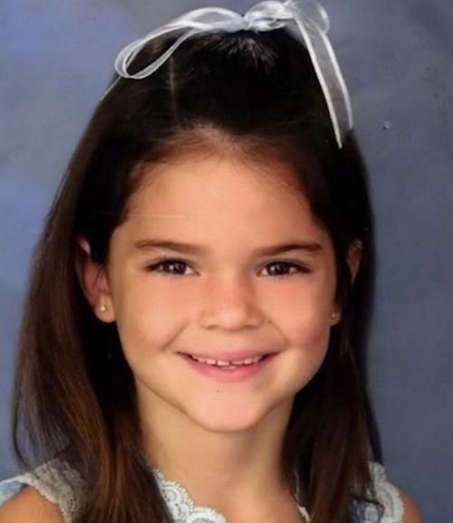 Kendall Jenner enfant