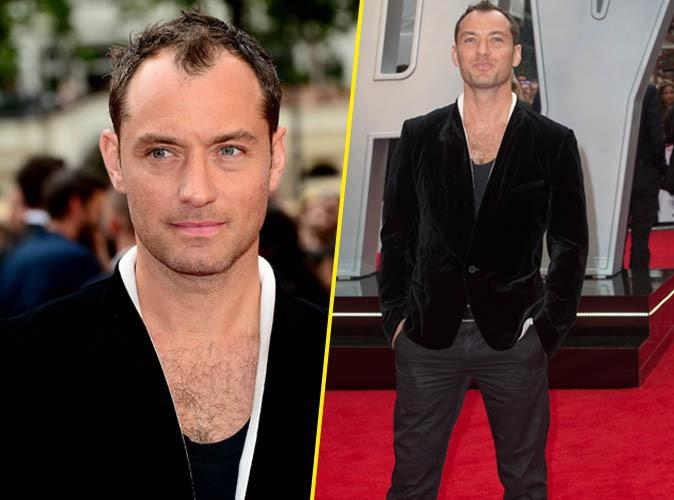 Jude Law toujours aussi beau-gosse pour son retour au cin�ma !
