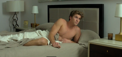 Liam Hemsworth dans Paranoïa