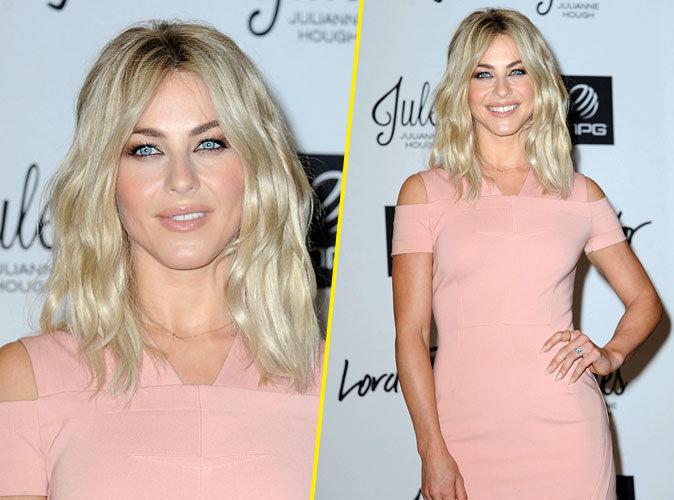 Julianne Hough : fessier bombé, robe rose poudré... Elle est sexy comme jamais !