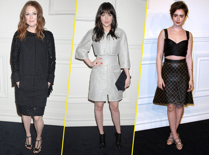 Photos : Julianne Moore, Dakota Johnson, Lily Collins… Quand les actrices mènent la danse pour Chanel !