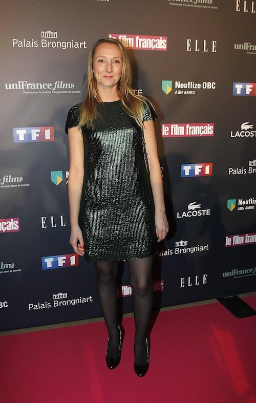 Audrey Lamy aux Trophées du Film Français à Paris, le 12 février 2015