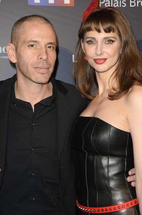 Frédérique Bel et Medi Sadoun aux Trophées du Film Français à Paris, le 12 février 2015