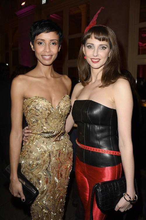 Frédérique Bel et Sonia Rolland aux Trophées du Film Français à Paris, le 12 février 2015