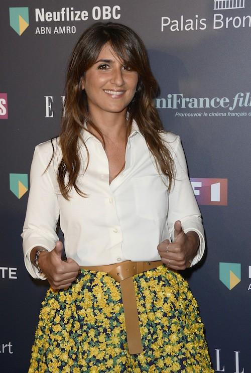 Géraldine Nakache aux Trophées du Film Français à Paris, le 12 février 2015