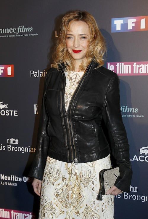 Hélène de Fougerolles aux Trophées du Film Français à Paris, le 12 février 2015