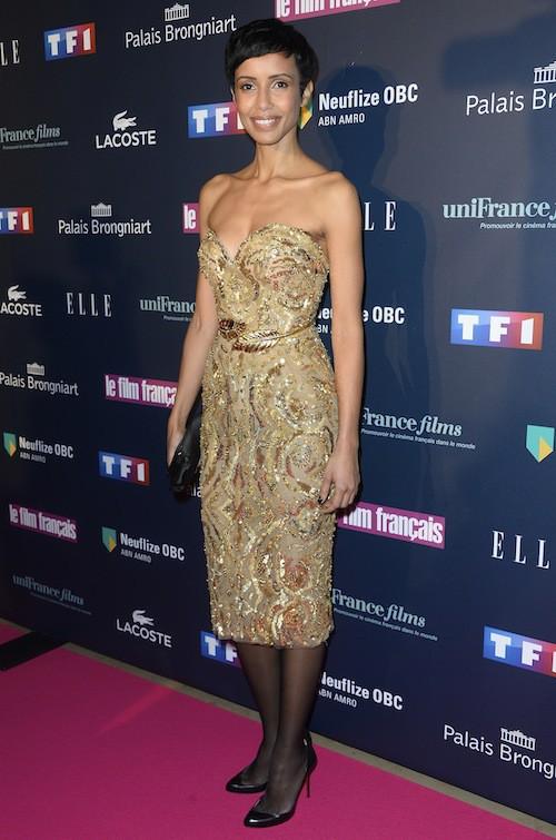 Sonia Rolland aux Trophées du Film Français à Paris, le 12 février 2015