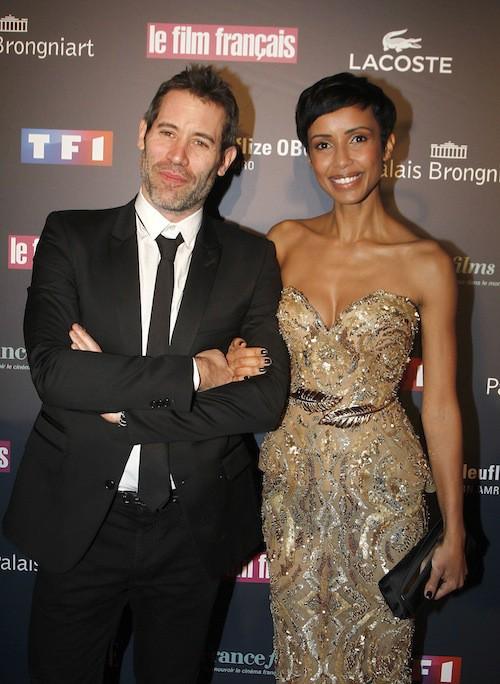 Sonia Rolland et Jalil Lespert aux Trophées du Film Français à Paris, le 12 février 2015