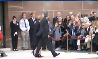 Photos : Julie Gayet : première apparition officielle avec François Hollande !