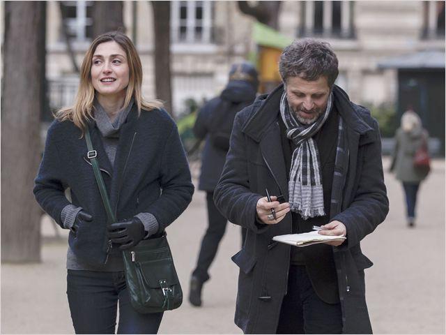 """Julie Gayet dans son nouveau film, """"Les âmes de papier"""""""