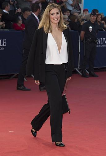 Julie Gayet à Deauville le 12 septembre 2014