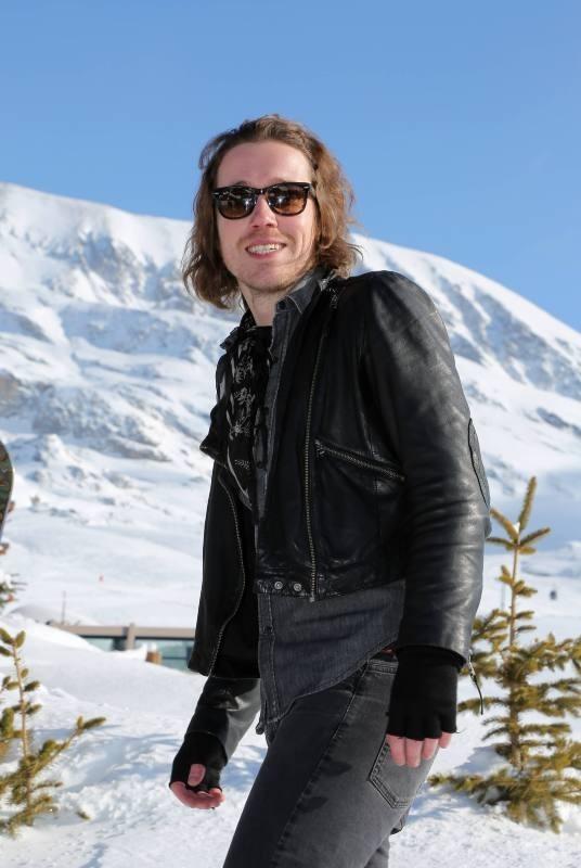 Julien Doré le 17 janvier 2013 au festival de comédie de l'Alpe d'Huez