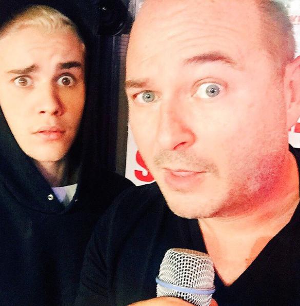 Justin Bieber le 16 septembre 2015
