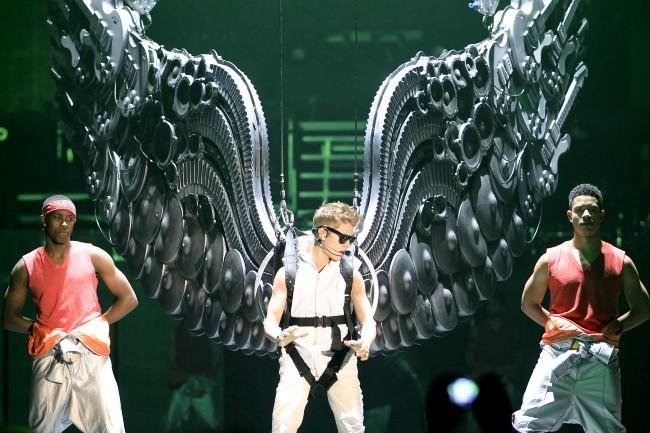 Justin Bieber 16 octobre 2012 au Canada