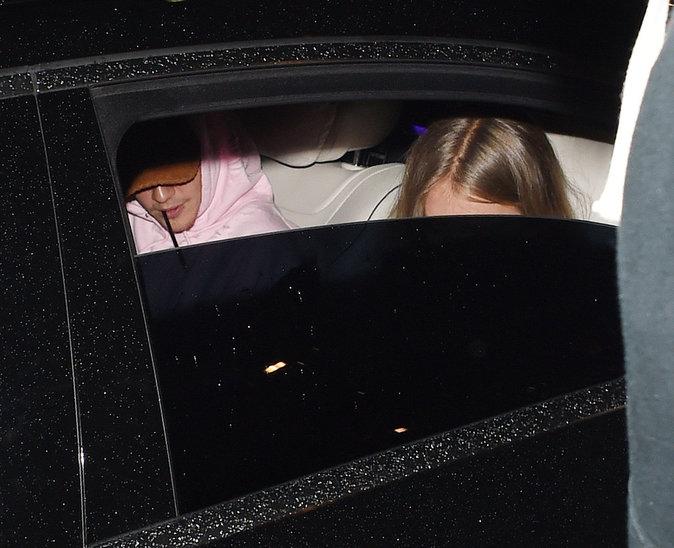 Justin Bieber et Bronte Blampied à Londres ce lundi 22 août