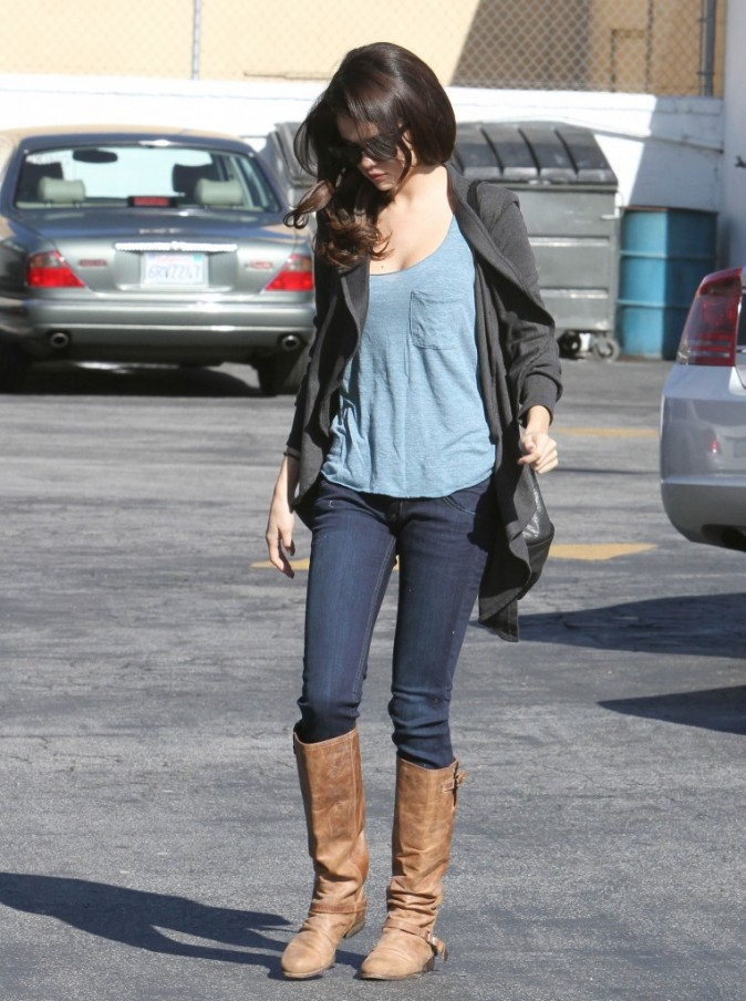 En solo, Selena n'est pas très heureuse...