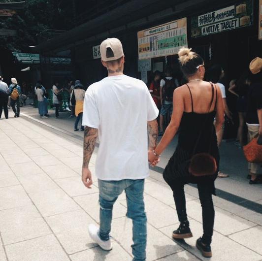 Photos : Justin Bieber et Sofia Richie : leur histoire d'amour continue jusqu'au Japon !