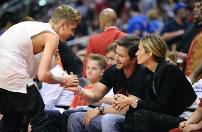 Photos : Justin Bieber : hué par le public lors d'un match de NBA !