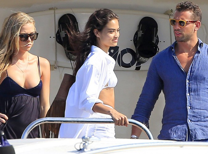 Shanina Shaik à Ibiza le 31 juillet 2014