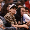Justin Bieber le 27 décembre 2012 à Staples Center de Los Angeles