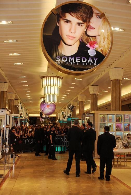 Le parfum de Justin Bieber débarque en magasin !