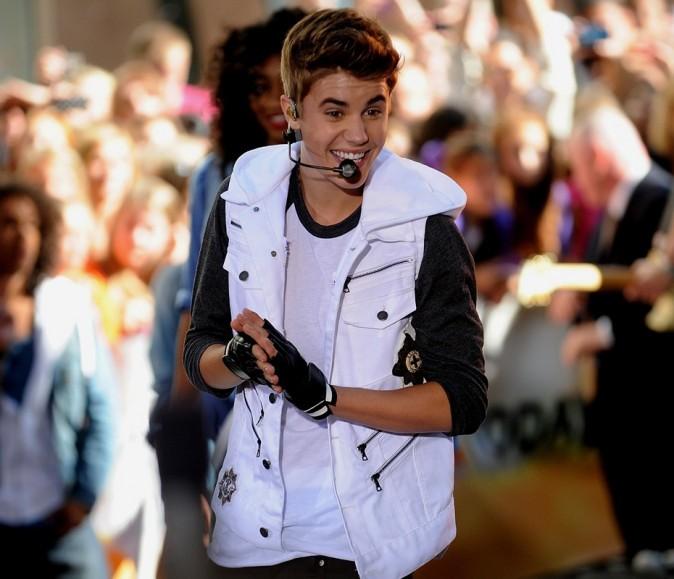 Justin Bieber sur le plateau du Today Show