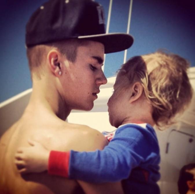 Justin Bieber en famille !